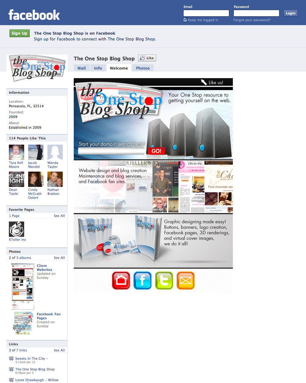 Facebook Fan Page Package | Quality Article Writers and Article ...