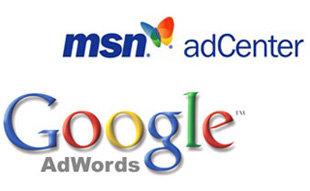 google adwords msn center