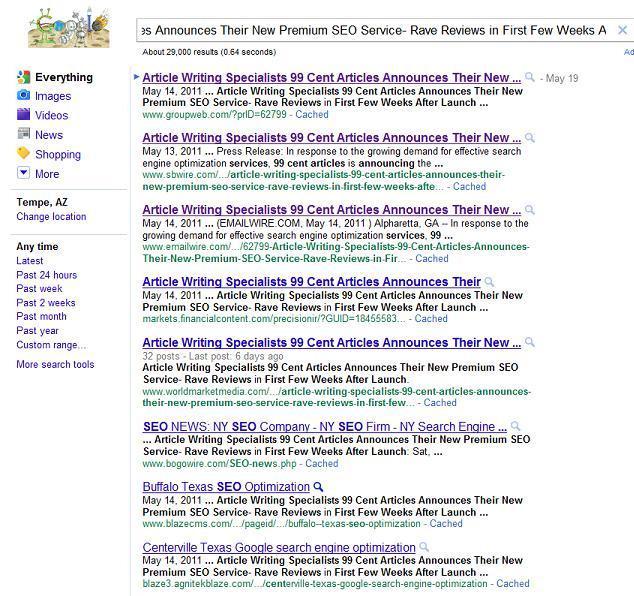 Web Ranking
